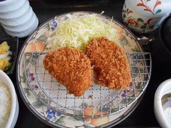 ひれかつランチ(茶碗蒸し付)