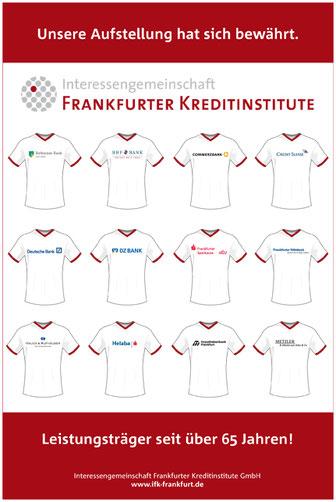 """Anzeige in der Börsen-Zeitung Sonderbeilage """"Finanzen und Fußball"""" zur Fußball Weltmeisterschaft 2014."""