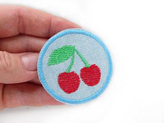 Bild: Kirsche Flicken für Hosenlöcher, Accessoire Patch zum aufbügeln