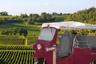 Visite du vignoble de Saint-Emilion en Tuk-tuk