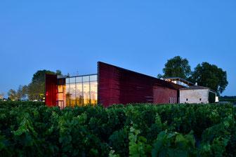 Restaurant Terrasse Rouge dans le vignoble de Saint-Emilion