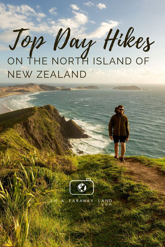 Find the best hiking trails on the North Island of New Zealand. From half hour stroll to full day excursions there is something for every level of fitness! #Newzealand #hiking