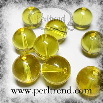 Edelstein Citrin Perlen www.perltrend.com Edelsteine Gemstones Steine Perlen Heilsteine Schmuck Schmuckdesign Perltrend Luzern Schweiz Onlineshop gelb gold rund 12 mm