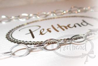 Perltrend Halsketten Silber 925