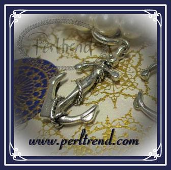 www.perltrend.com Anhänger Silber 925 Anker
