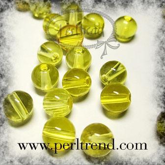 Edelstein Citrin  Perlen www.perltrend.com Edelsteine Gemstones Steine Perlen Heilsteine Schmuck Schmuckdesign Perltrend Luzern Schweiz Onlineshop gelb gold rund 6 mm