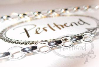 Halsketten Silber grob 56-65cm