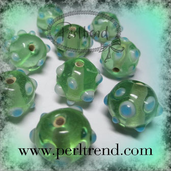 Glasperlen Dots www.perltrend.com