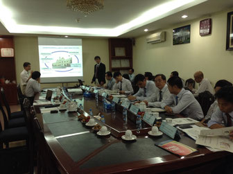 meeting at the Department of Construction