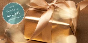 Das nachhaltige Geschenk - Fair Trade Gutscheine im Wert ab 20 EUR