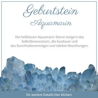 aquamarin wassermann sternzeichen bedeutung edelstein schmuck geburtstein