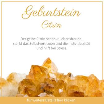 citrin löwe sternzeichen bedeutung edelstein schmuck geburtstein