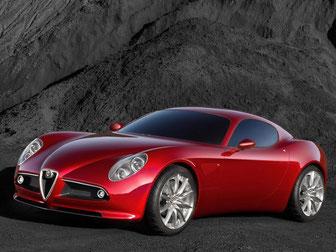L'Alfa Roméo 8C-Competizione
