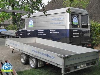 Zimmerei 862, Brake, Bus und Anhänger, Oldenburg, Bad Zwischenahn, Varel, Brake, Nordenham, Wesermarsch