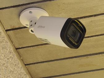 入口にも防犯カメラを設置