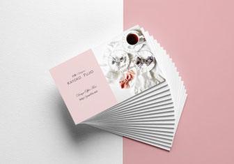JourFIn ショップカード 名刺 ロゴデザイン ロゴ ブランドロゴ ロゴ制作