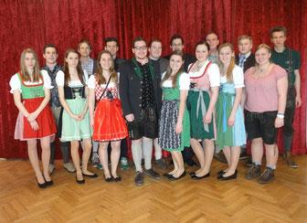 Gruppenfoto der Landjugend Hainersdorf