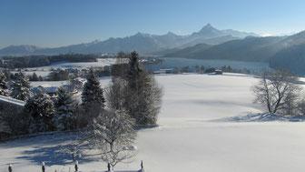 Weißensee im Winter