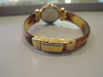 腕時計のベルト中留溶接修理完了