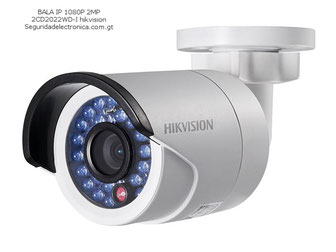 camara de seguridad ip tipo bala 1080 2mp 2CD2022WD-I hikvision