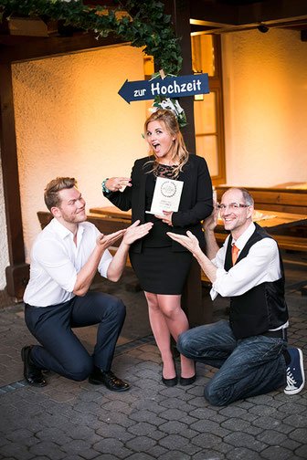 Hat over Heels als Gewinner des Austrian Wedding Award