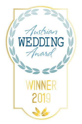 Gewinner des Austrian Wedding Award als beste Live- und Hochzeitsband in Österreich