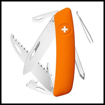 Outdoor Survival Messer Sackmesser Standard Swiza Prepper Selbstversorger Bushcraft
