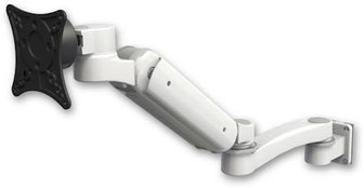 ICWUSA UL180シリーズ モニターアーム ディスプレイ用アーム 昇降式アーム 病院設備, 医療, ヘルスケア, デンタル, 歯科, ガススプリング内蔵タイプ, ウォールマウント, 壁, UL180シリーズ, VESAマウント UL180BV-W5-A1 壁取付 壁面固定