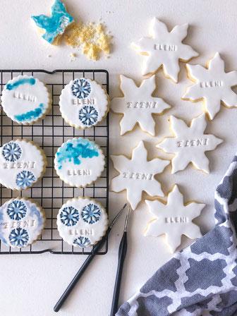 Elsa Frozen Kekse