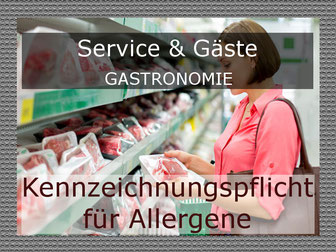 Allergene in der Gastronomie