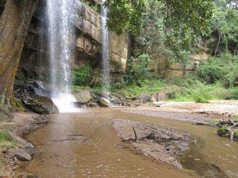 Wanderung zu dem Wasserfall in de Shimba Hills