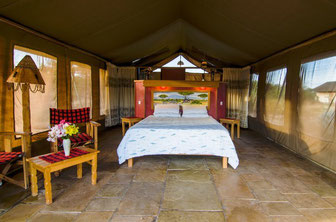 Camps im Amboseli Nationalpark