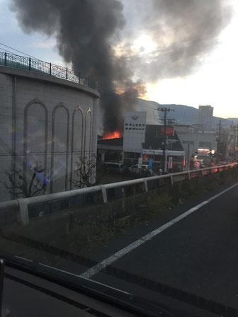 2017年11月3日の宝塚の火事