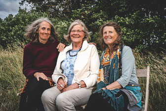 v.l.: Patricia, Christiane und Sabine