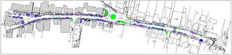 Historischer Markt in Bad Essen - Standplan von 2018