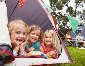 Kurzurlaub mit Camping am Wißmarer See