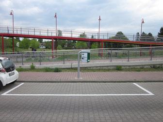 S-Bahn Bergfelde (Brückenstr.) höchste Ladeleistung im Stadtgebiet
