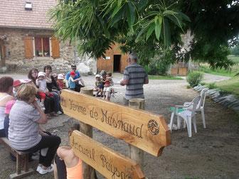 visite de la ferme pédagogique