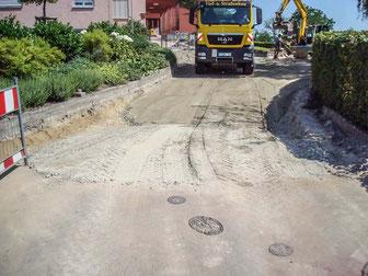 Straßensanierung Robert-Koch-Straße, Ettenheim (vorher)