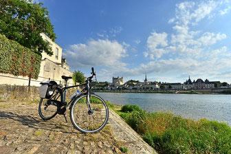 Séjour Patrimoine à vélo, Domaine de Joreau, Gennes