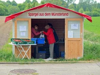 Verkaufstand Sodinger Straße