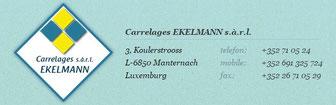 Carrelages Ekelmann Manternach (Sponsor)