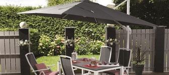 Hangstoel Met Parasol.Tuinmeubelen Winkel Elsloo
