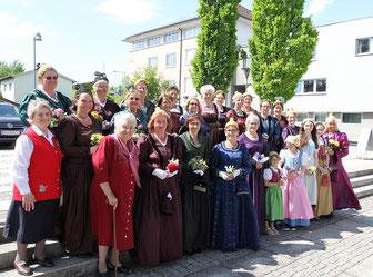 Goldhauben Bezirksmaiandacht 2019, Foto: Berndt Pachleitner