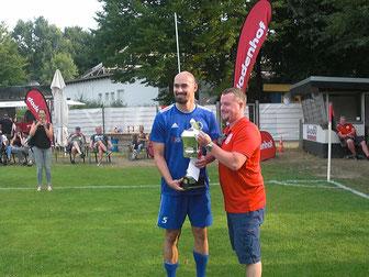 Mit einem 1:0 gegen FC UNION 60 sicherte sich der BSC Hastedt den 1. Platz beim Dodenhof Cup 2018