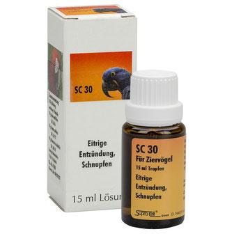 Für Ziervögel - SC 30 - Entzündungen