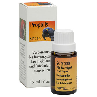 Für Ziervögel - SC 2000 - Propolis