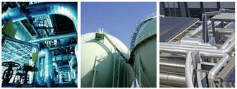Anlagen der Prozessindustrie
