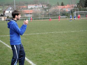 Jan im Pokalfinale mit den C-Junioren