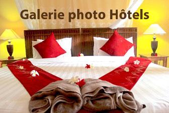 Chambre double avec décors Balinais, Hôtel plongée Bali en Indonésie.